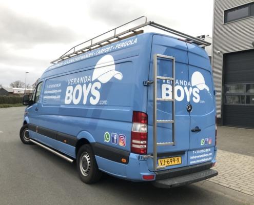 Ford Custom, mercedes, benz, sprinter, ford, wrapping, bestelbus, signing, bedrijfsbus, bedrijfsauto, wrappen, beletteren, reclame